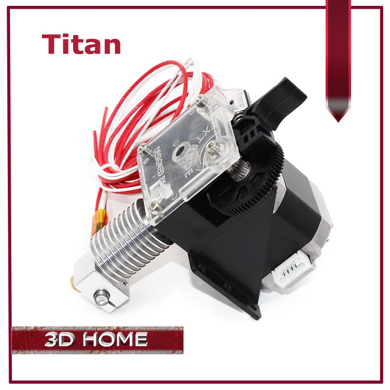 ZANYAPTR 3D Printer Titan Extruder Kits for Desktop FDM Reprap MK8 Kossel J-head bowden Pruse i3 Mounting Bracket