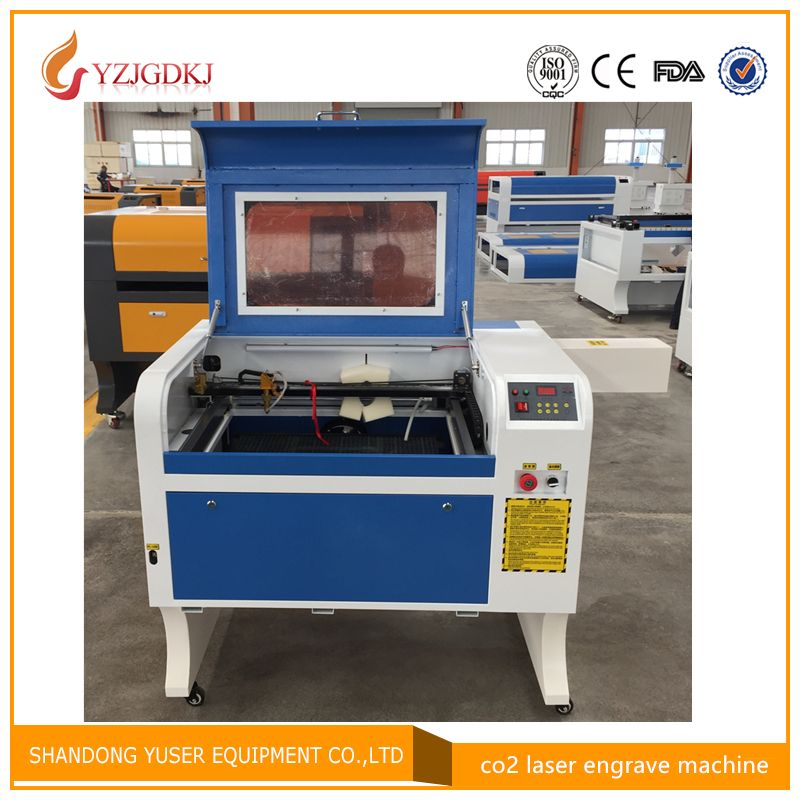 80w 4060 Laser Engraving 600*400mm 80W Co2 Laser Cutting Machine Specifical for Plywood/Acrylic/Leather free shipping coreldraw