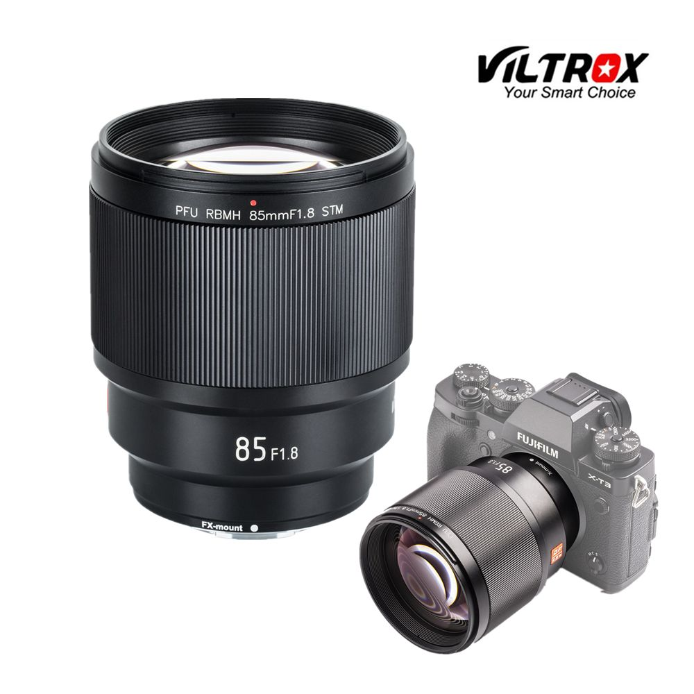 VILTROX 85mm f/1,8 STM Auto Fixiert Konzentrieren fokus objektiv F1.8 Objektiv für Kamera Fujifilm X-mount x-T3 X-H1 X20 X-T30 X-T20 X-T100 X-Pro2