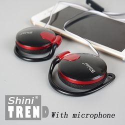 3.5mm Stereo ShiniQ140 Headphone Ear Hook Earphone For Mobile Phone Iphone Xiaomi Headset Factory Price Gifts For Children