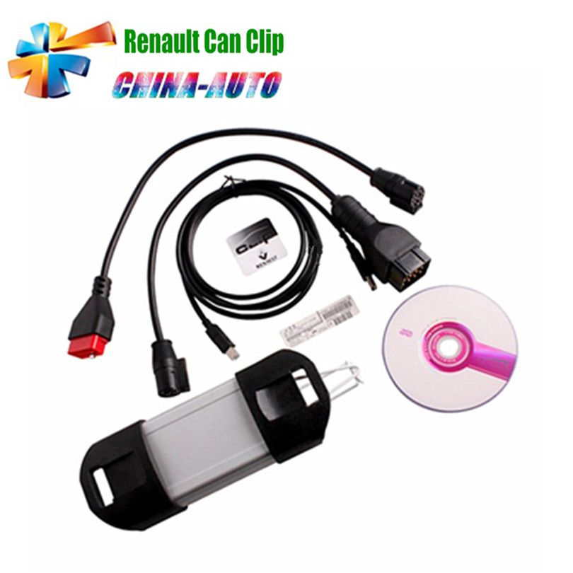 2017 Latest V168 Version Renault Can Clip Diagnostic Interface Support Multi-languages For Renault with Best Price