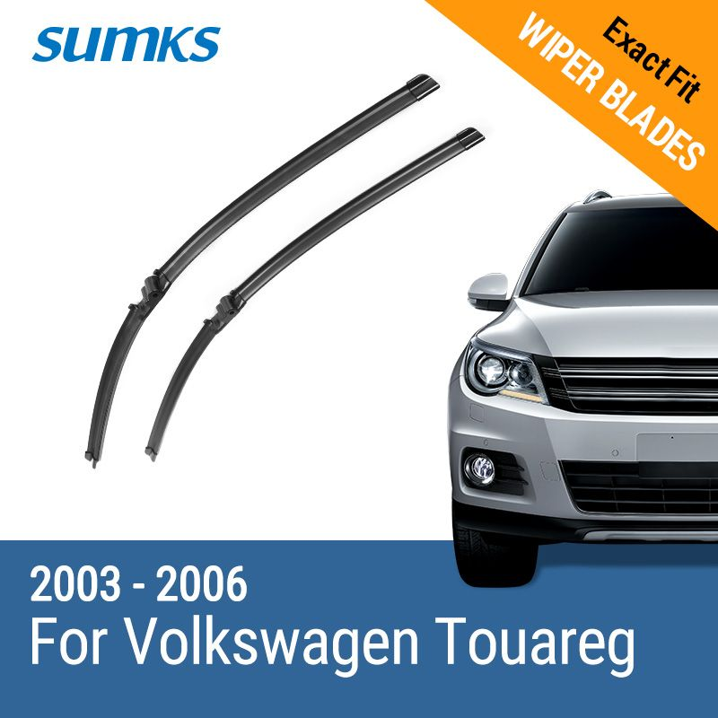 SUMKS Limpiaparabrisas Cuchillas para Volkswagen Touareg 26