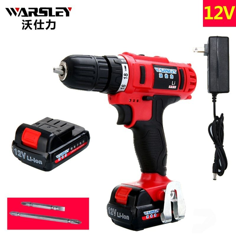 12v Electric Cordless Drill 2 Batteries Screwdriver power tools Like Speed Dremel perceuse sans fil Power tools Mini Drill