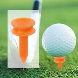 100Pcs/Set Portable to Carry Plastic 69mm Golf Tees Golf Training Aids Essential Outdoor Golfer Accessory for Golfer 68g