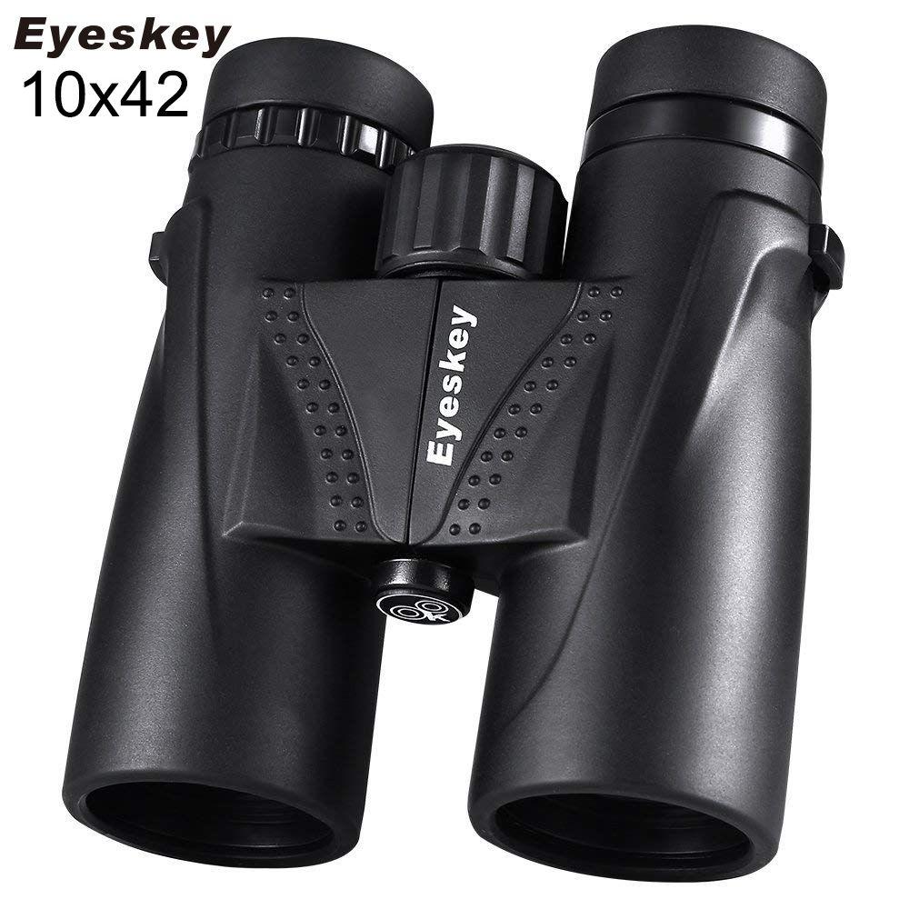 10X42 Eyeskey Fernglas Wasserdicht Professionelle Camping Jagd Teleskop Zoom Bak4 Prism Optics mit Fernglas Strap