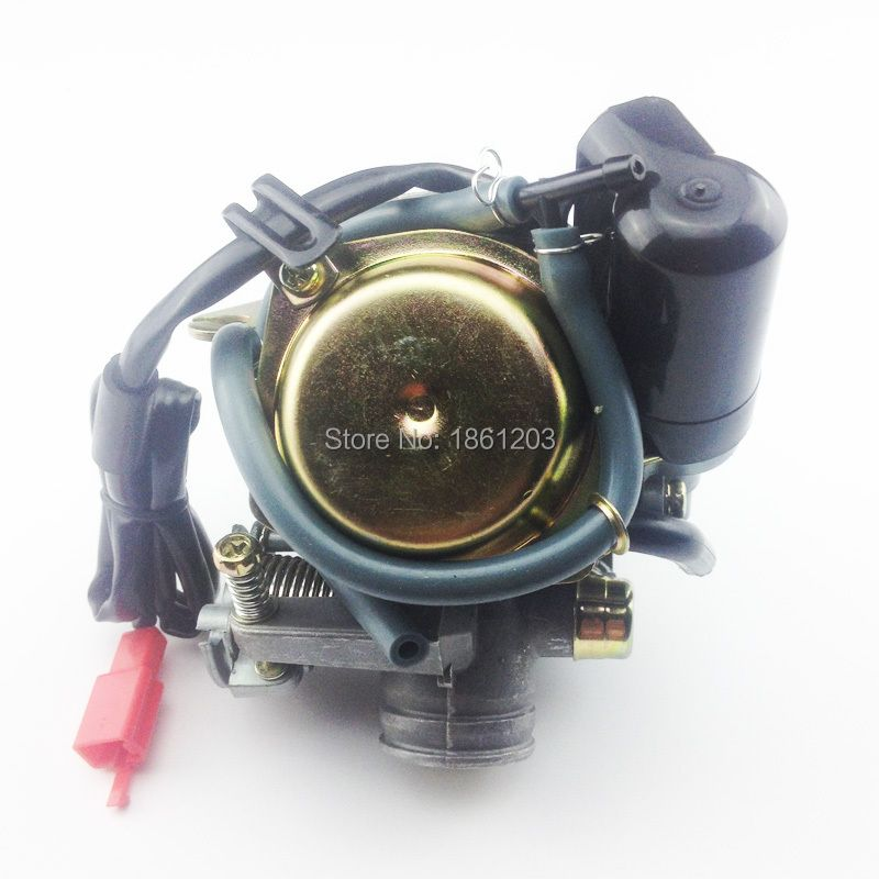 Fast Shipping Size 24mm Big Bore Carb CVK Keihin Carburetor for Chinese GY6 125cc 150cc motorcycle parts scooter Moped ATV