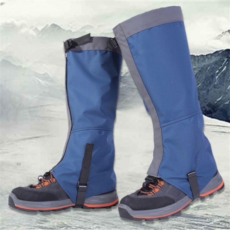 De Neige en plein air Genouillère Ski Gaiters Randonnée Escalade Jambe Protection Garde Sport Sécurité Étanche Jambières Sking Chaussures