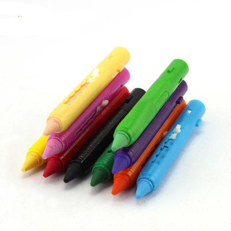 16 Color Crayon Pen Composition Party Facing Paint Pencil Splicing Frame Body Christmas Painting Children's Pen Face Painting