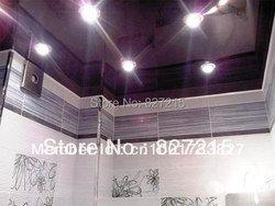 Púrpuras brillantes Techos tensados para la decoración del techo/lámpara de alta potencia