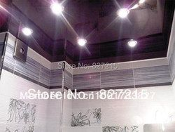 Purple Glossy Stretch Ceilings for Ceiling Decoration/ High Power Lamp