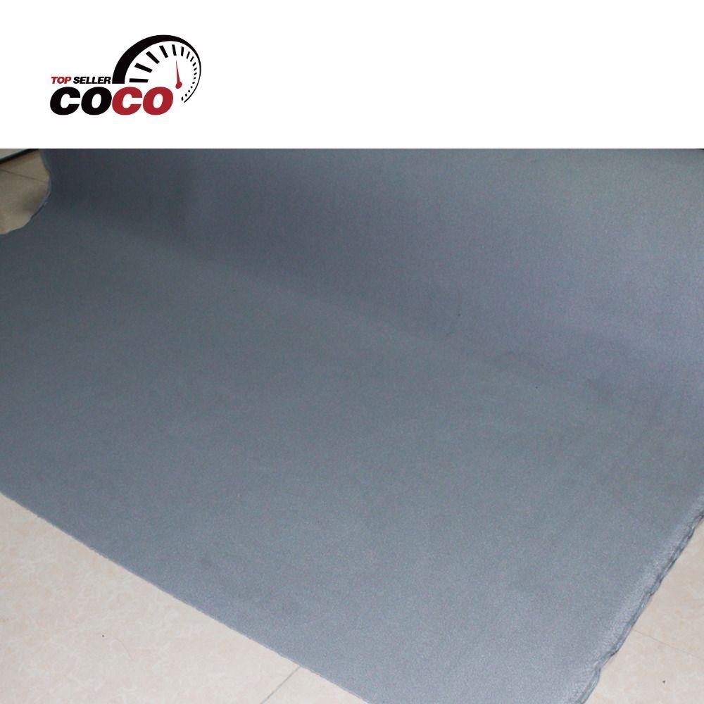 Voiture style 70 x55 auto pro gris tête de lit tissu plafond isolation phonique mousse support toit doublure rembourrage 180 cm x 140 cm
