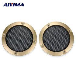 Aiyima 2Pcs 3Inch Speaker Net Enclosures OK Box Net Cover Car Subwoofer Network Cover Iron Net For Speaker