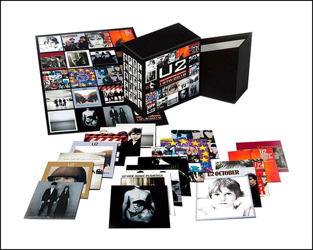 2018 New U2 CD BOX SET The Complete Edition 1976-2018 22CD music cd box set Boxset Free Shipping