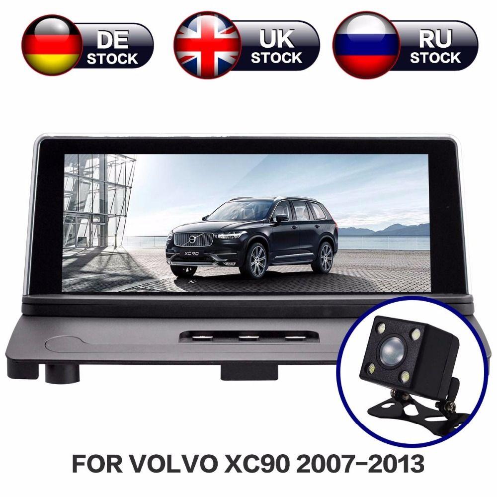 Android 7.1 RAM 2g Radio Bildschirm Auto Stereo GPS Navigation Steuergerät Multimedia Für Volvo XC90 2007-2013 Freies karte und kamera