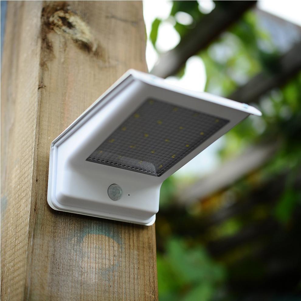 20 détecteur de mouvement LED nuit éclairage extérieur étanche lampe solaire mur LED lumière d'urgence lampe solaire chemin décor