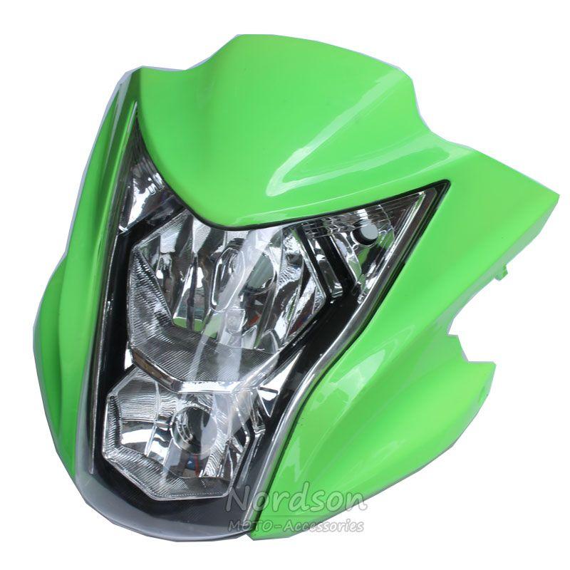 Nordson High Quality Headlight For Kawasaki ER-6N Dedicated Motorcycle Fairing Motorbike Head Light Lamp Cowling Fits 2012-2015