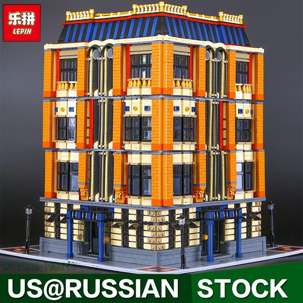 Lepin 15016 Genuine MOC Creative Creators Series The Apple University Set Building Blocks 7968Pcs Bricks Toys