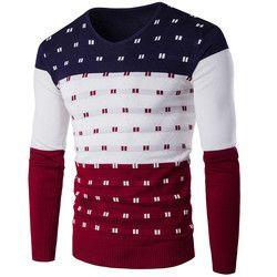 2018 Musim Dingin Pria Lengan Panjang Kasual Sweater Hangat Merajut Pullover Z10