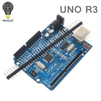 WAVGAT high quality UNO R3 MEGA328P CH340G for Arduino Compatible NO USB CABLE MEGA 2560
