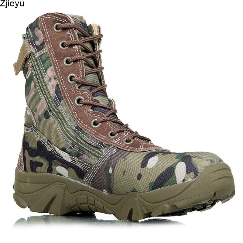 Men military boots camouflage tactical combat boots asker bot men kamuflaj bot army shoes men climbing shoes botas hombre