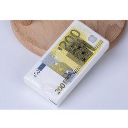 Nouveau design tissu 10 pcs serviette papier creative mouchoir 200 Euro de mariage papier pour l'événement de fête d'anniversaire décoration fournitures
