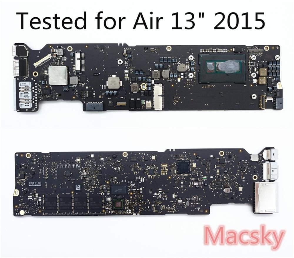 Tested Motherboard for MacBook Air 13 A1466 2013 2014 i5 1.3GHz 1.4GHz 4GB i7 1.7GHz 4G 8G RAM 2015 1.6GHz 4G A1466 logic Board