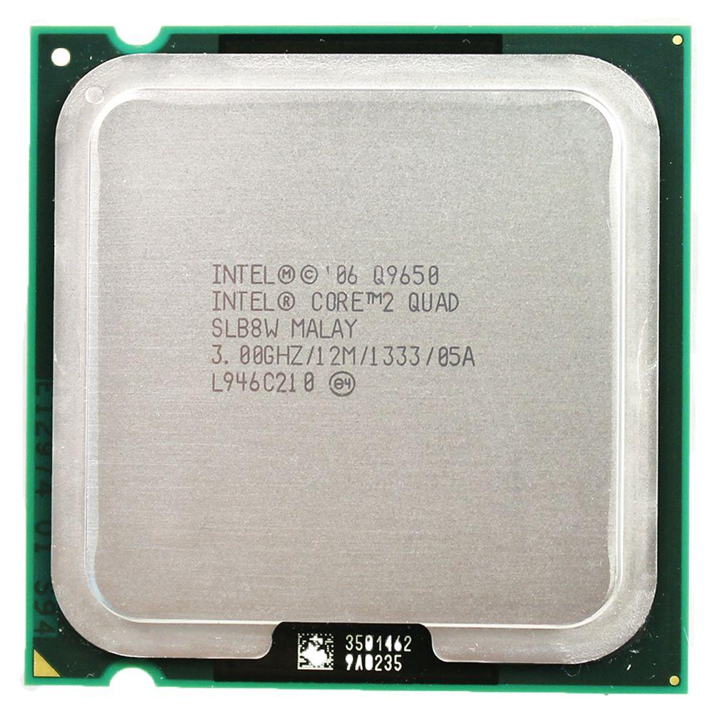Processeur Intel Core 2 Quad-Core Q9650 Socket LGA 775 (3.0 Ghz/12 M/1333 GHz) Socket 775 CPU de bureau