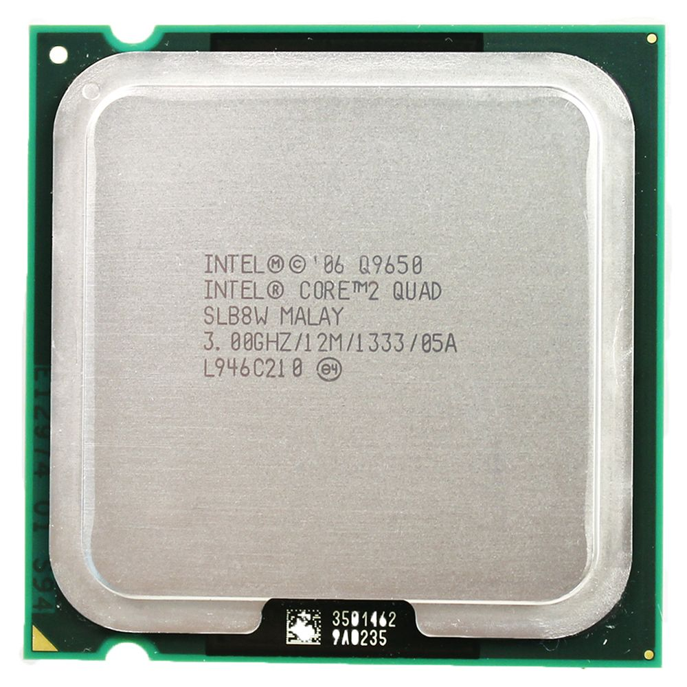 intel core 2 quad processor Q9650 Socket LGA 775 (3.0Ghz/ 12M /1333GHz) Socket 775 Desktop CPU