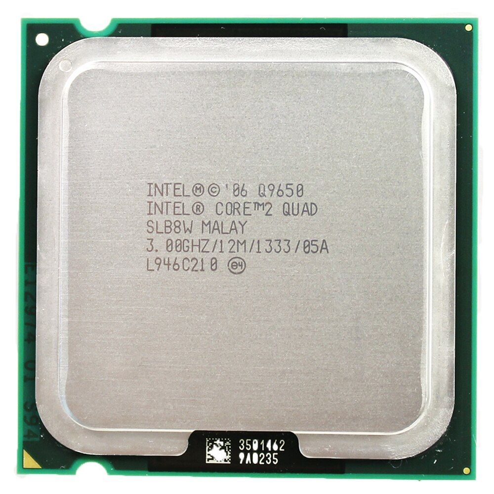 intel core 2 quad processor Q9650 Socket LGA 775 (3.0Ghz/ 12M /1333GHz) Socket 775 Desktop CPU