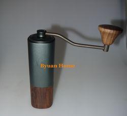 MYY47 Aerolite Portable Steel Grinding Inti Tinggi Kualitas Desain Pegangan Super Manual Coffee Mill Dulex Bearing