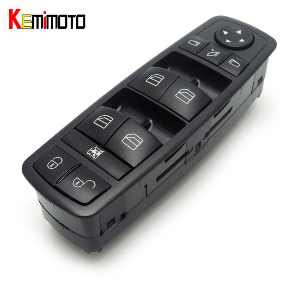 KEMiMOTO Power Window lock Switch Fits For Mercedes-Benz B-Klasse W245 W169 A-Klasse A1698206710, 1698206710, A 169 820 67 10