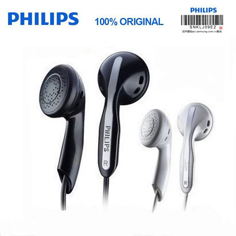 Philips Original SHE3800 Stereo Bass Earphones Mp3 earphones for a mobile phone Xiao Mi and For HUAWEI Iphone X No Micphone
