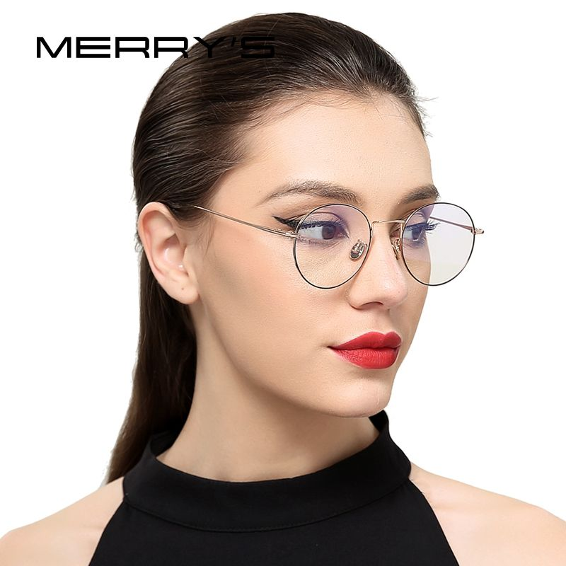 MERRY'S 2017 New Men/Women Retro Optical Frames Eyeglasses Classic Glasses S'8112