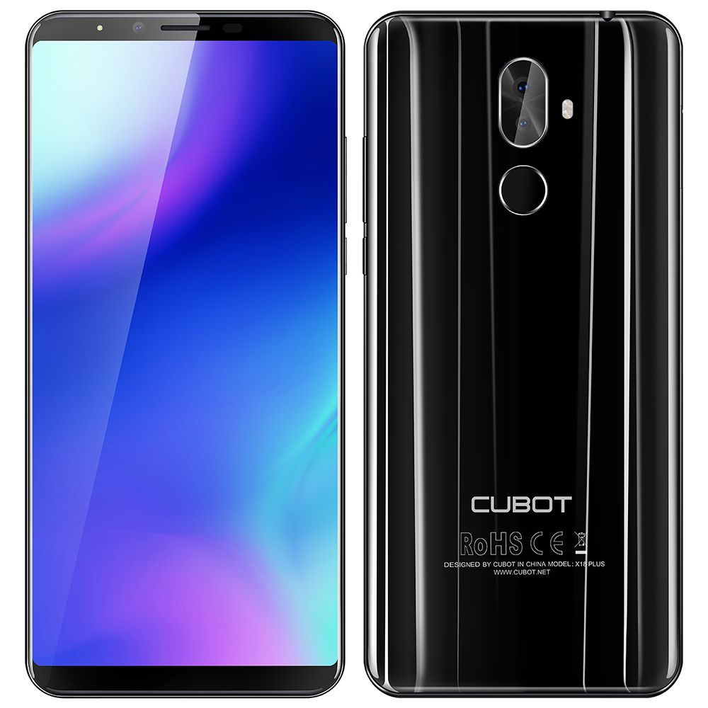 CUBOT X18 Plus 4G Phablet Smartphone Android 8.0 5.99inch MTK6750T OctaCore 4GB+64GB 4000mAhBattery 20.0MP+2.0MP DualRear Camera