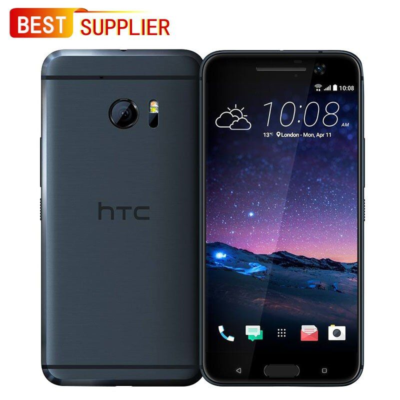 Original Unlocked HTC 10 (M10) Smartphone - 32GB, 4GB RAM, 4G LTE, 5.2 inches, Looks Like New, 1 Year Warranty