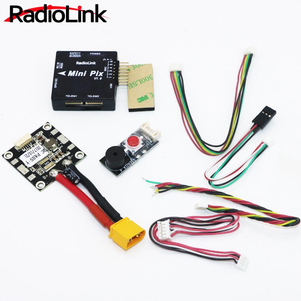 Radiolink Mini PIX Flight Control V1.0 Top-konfiguration Schwingungsdämpfung durch Software Atitude Halten für Pixhawk RC Racer Drone