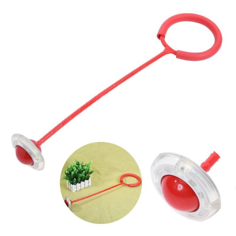Kinder Springenden Ball Children Baby Flash Jumping Foot Force Ball Outdoor Sport Toy Bounce Stress-Ball
