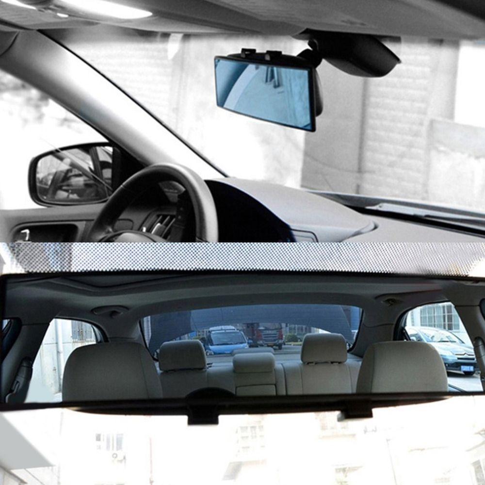 300mm Car Rear Mirror Wide-angle Rearview Mirror Auto Wide Convex Curve Interior Clip On Rear View Mirror