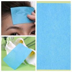 2 pack  (100Pcs) Paper Pulp Random Facial Oil Control Absorption Film Tissue Makeup Blotting Paper
