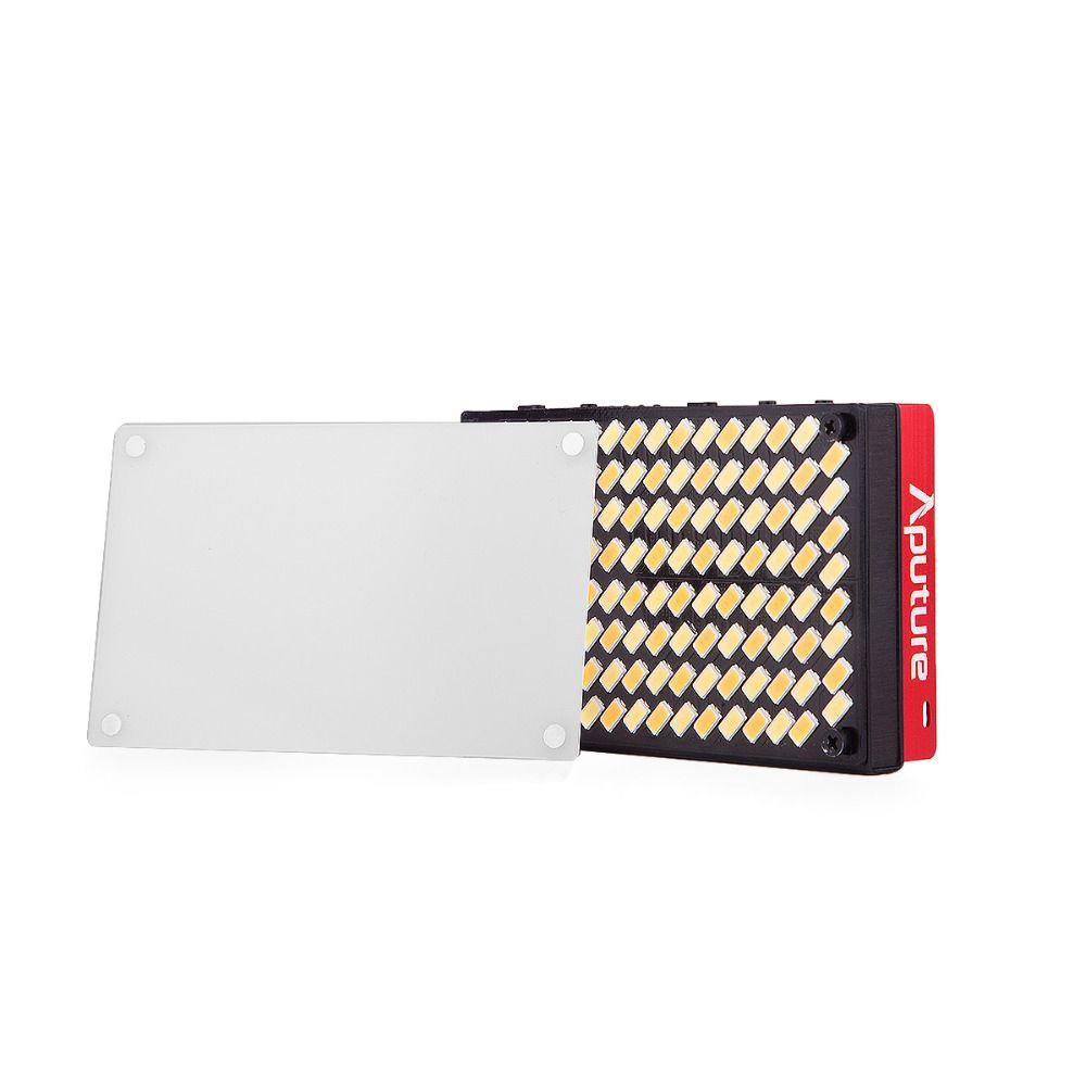 In stock Aputure AL-MX LED Video Color Temperature 2800-6500k TLCI/CRI 95+ on-camera fill light Pocket sized Tiny LED Lighting