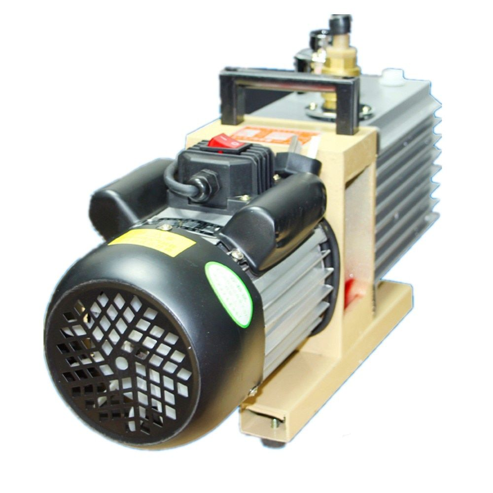 Drehschieberpumpe 8CFM 220 V/50 HZ 2XZ-4 Liter zweistufige Saugpumpe Spezialisiert Für KO TBK LCD OCA Laminiermaschine