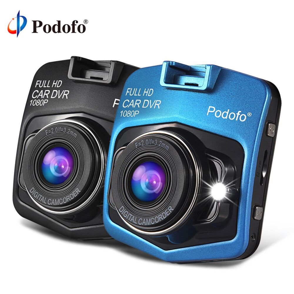Podofo A1 Mini Car <font><b>DVRs</b></font> Camera Full HD 1080P Dash Cam Recorder Video Registrar Night Vision Blackbox Carcam Dash Camera Dashcam