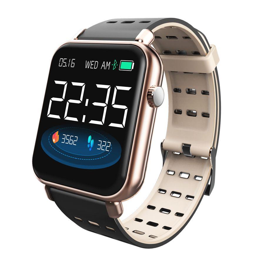 Y6 Pro bande intelligente soutien fréquence cardiaque pression artérielle moniteur d'oxygène IP68 étanche fitness tracker montre bracelet intelligent