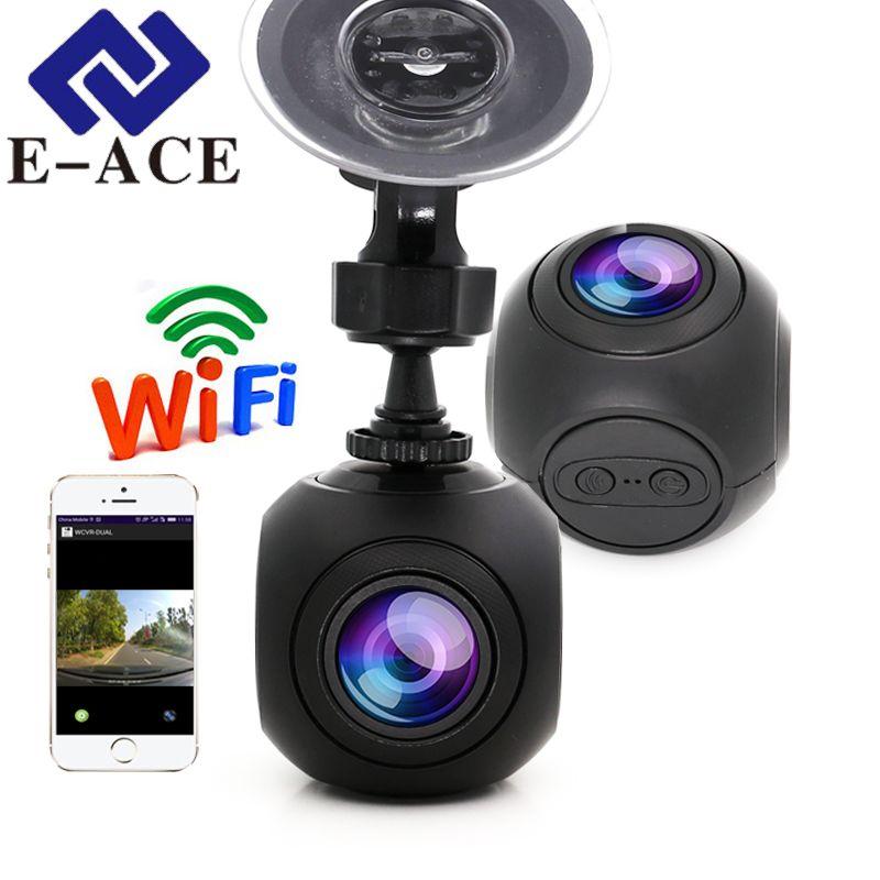 E-ACE Hidde Mini Wifi Car DVR Full HD 1080P Car Dash Camera Video Registrator Auto Camcorder Dashcam Digital Video Recorder