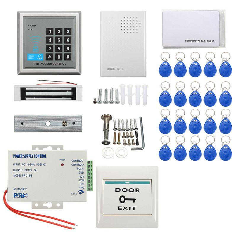 Sicherheit Rfid-zugriffskontrolle Elektromagnettürschloss ID Karte Passwort System Neue Ankunft Langlebige Qualität