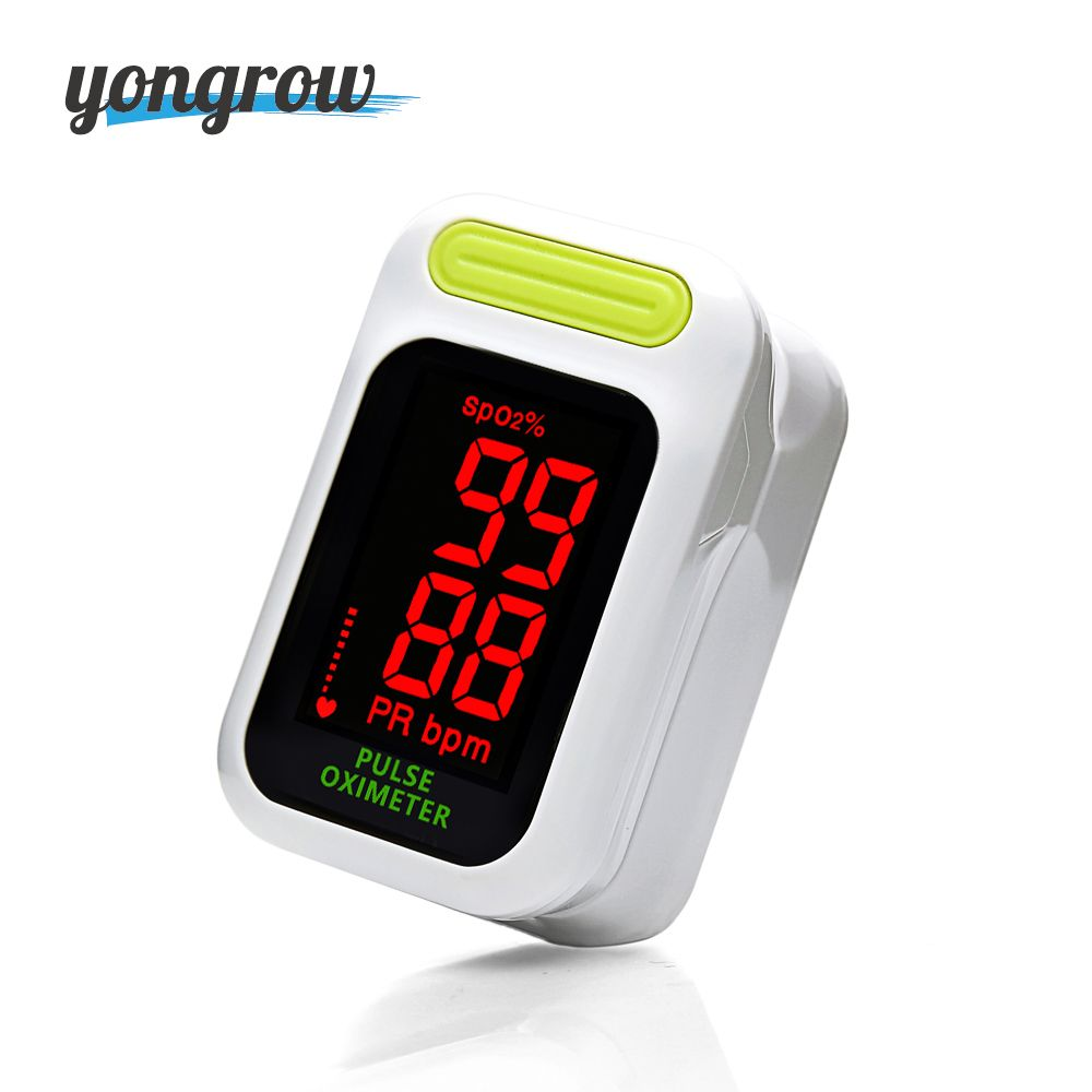 Yongrow LED Portable digital Fingertip Pulse Oximeter pulsioximetro CE Blood oxygen saturation Monitor SPO2 health care finger