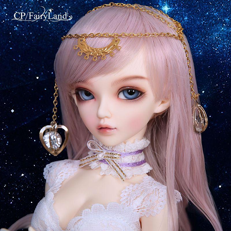 OUENEIFS Fairyland minifee chloe bjd 1/4 body model reborn baby girls boys dolls eyes High Quality toys shop  resin anime