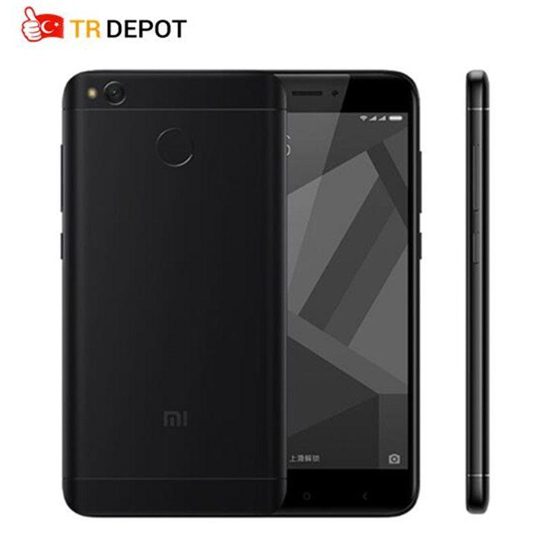 Original Xiaomi Redmi 4X 4 X Pro 3GB RAM <font><b>32GB</b></font> Snapdragon 435 Octa Core 5.0 HD 4G LTE 13.0MP 4100mAh Fingerprint ID Mobile Phone