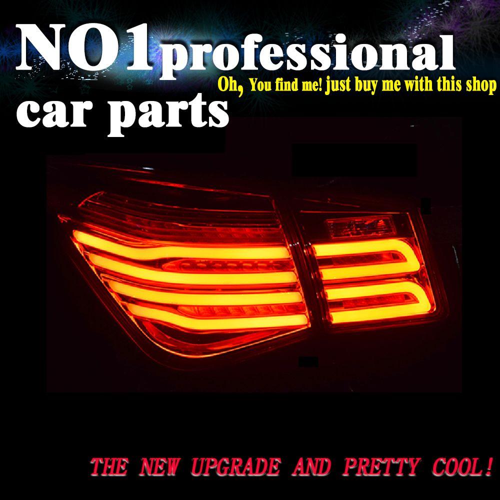 OUMIAO Auto Styling rückleuchten für Chevrolet Cruze 2009-2014 rückleuchten LED Rücklicht hinten stamm lampe drl + blinker + bremse + revese