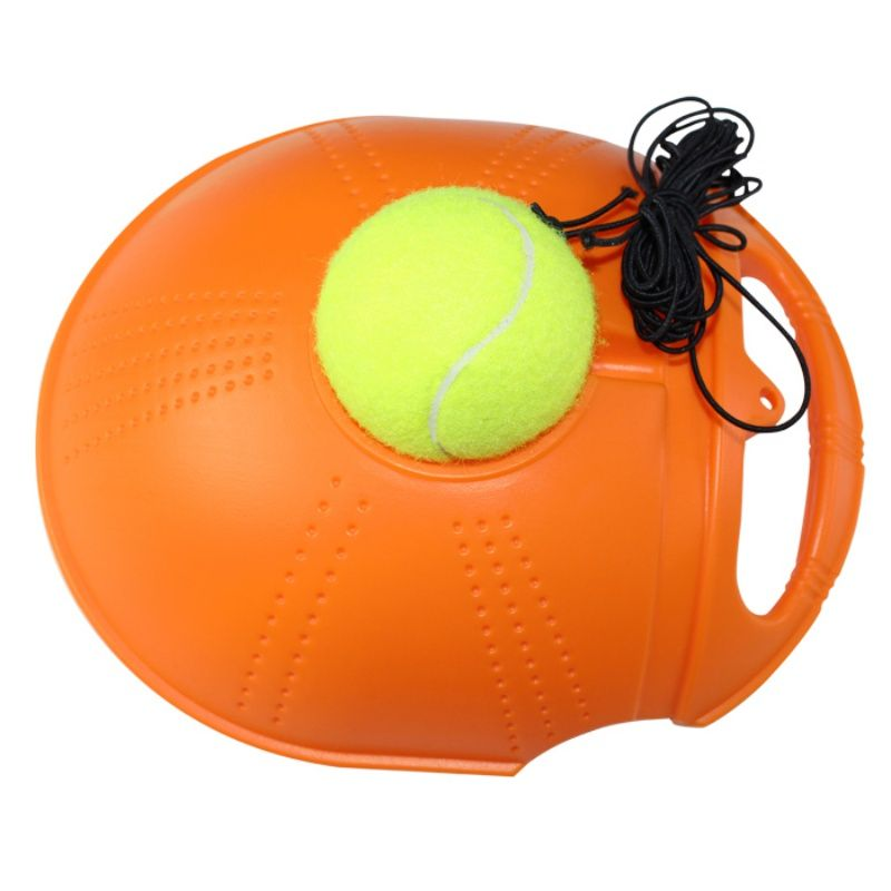 Hot Single Tennis Trainer Tennis Training Tool Exercise Tennis Practice Trainer Baseboard Sparring Device